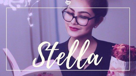 Foto de mulher e do nome Stella
