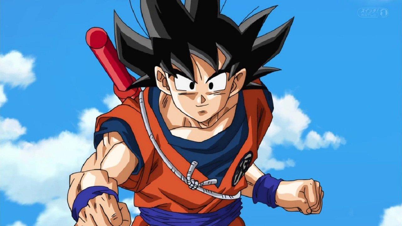 Imagem do personagem Goku em Dragon Ball Z