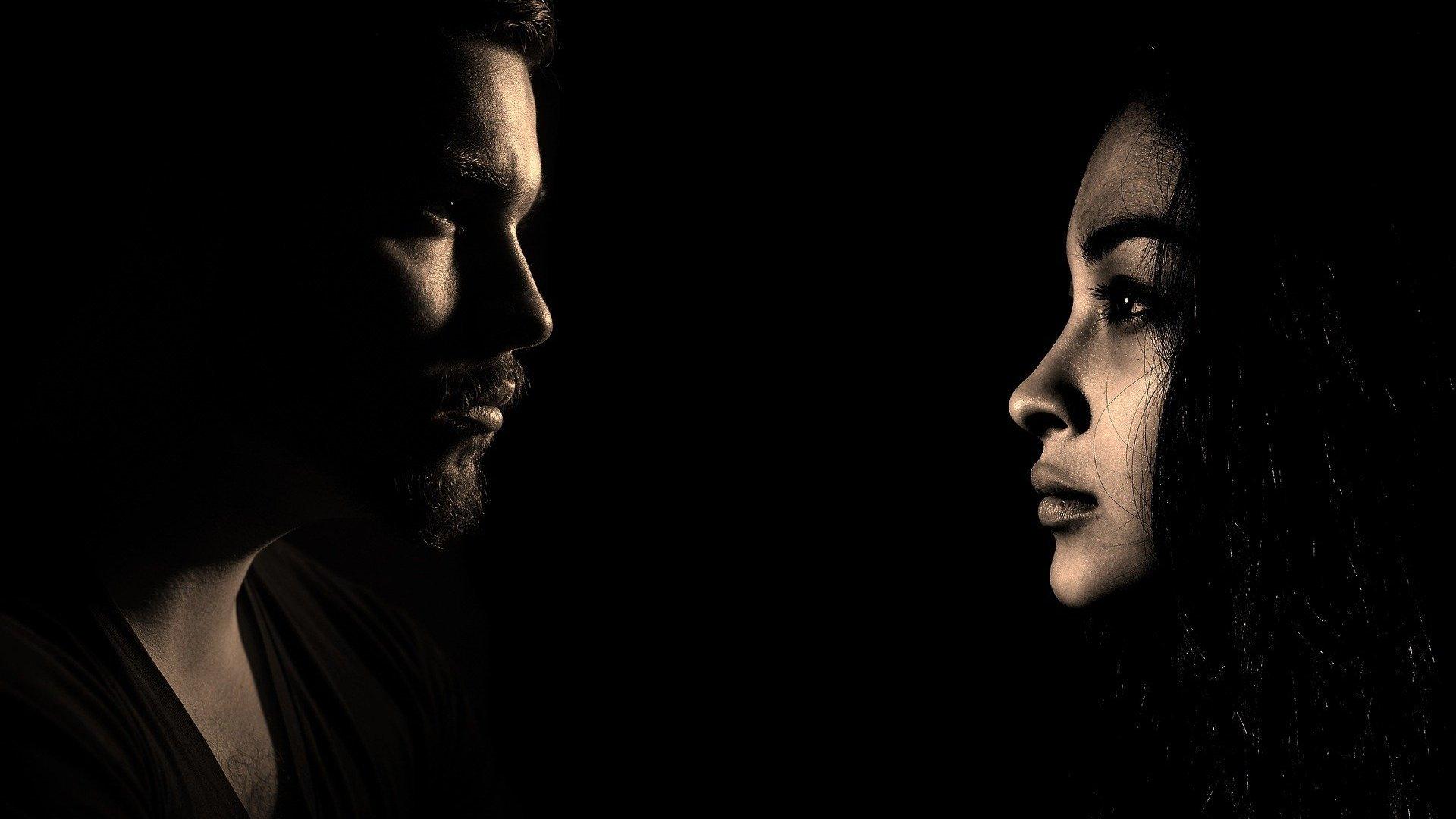 Imagem de homem  e mulher