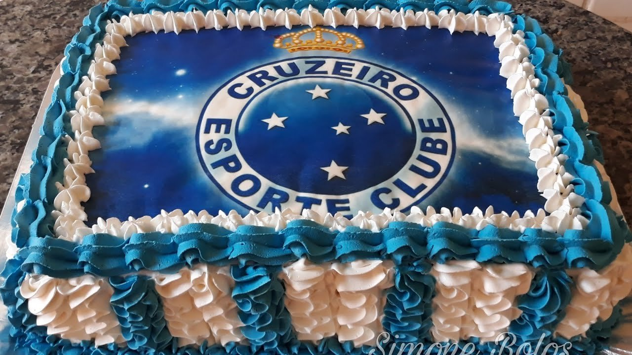 Foto de bolo do cruzeiro