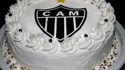 Foto de bolo de aniversário do atlético mineiro