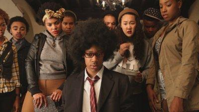 Foto de personagens da série  Cara gente branca