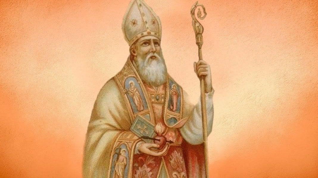 Ilustração de Santo Agostinho.
