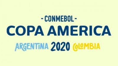 Logotipo da Copa América 2020