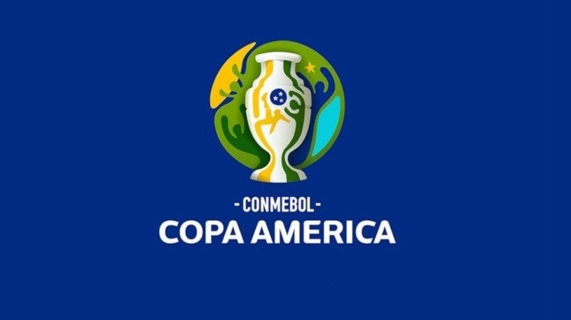 Poster da Copa América 2019 realizada no Brasil.