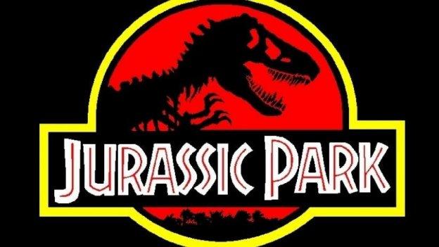 Dinossauros na floresta