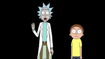 Personagens Ricky e Morty