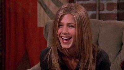 Mulher dando risada/ Rachel Green