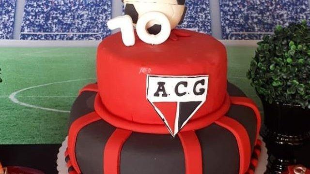 Bolo de aniversário do atlético goianiense