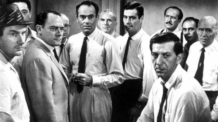 Personagens do filme 12 homens e uma sentença