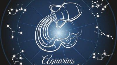 Símbolo  do signo de Aquário