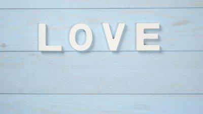 Amor escrito em inglês