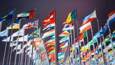 Bandeira de diversos países