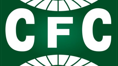 Ilustração com o escudo da bandeira do time Coritiba FC