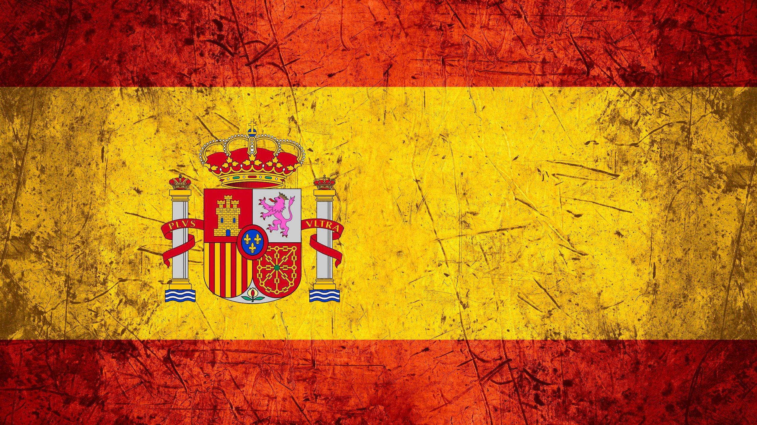 Bandeira da Espanha.