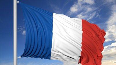 Bandeira da França.