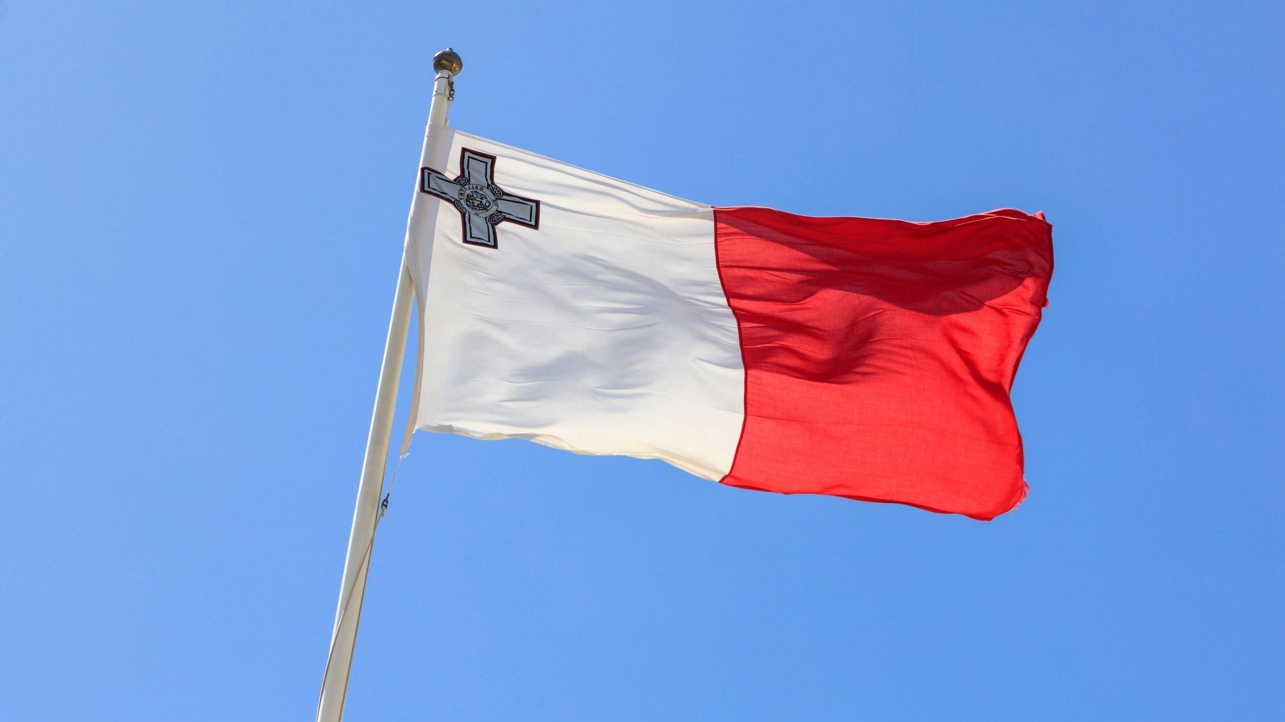 Bandeira de Malta.
