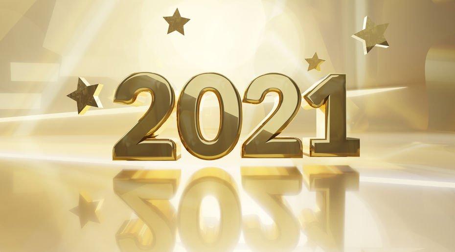 Imagem ilustrando o ano 2021