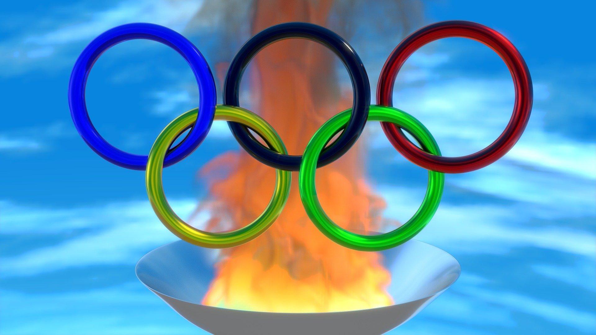 Símbolo das Olimpíadas.