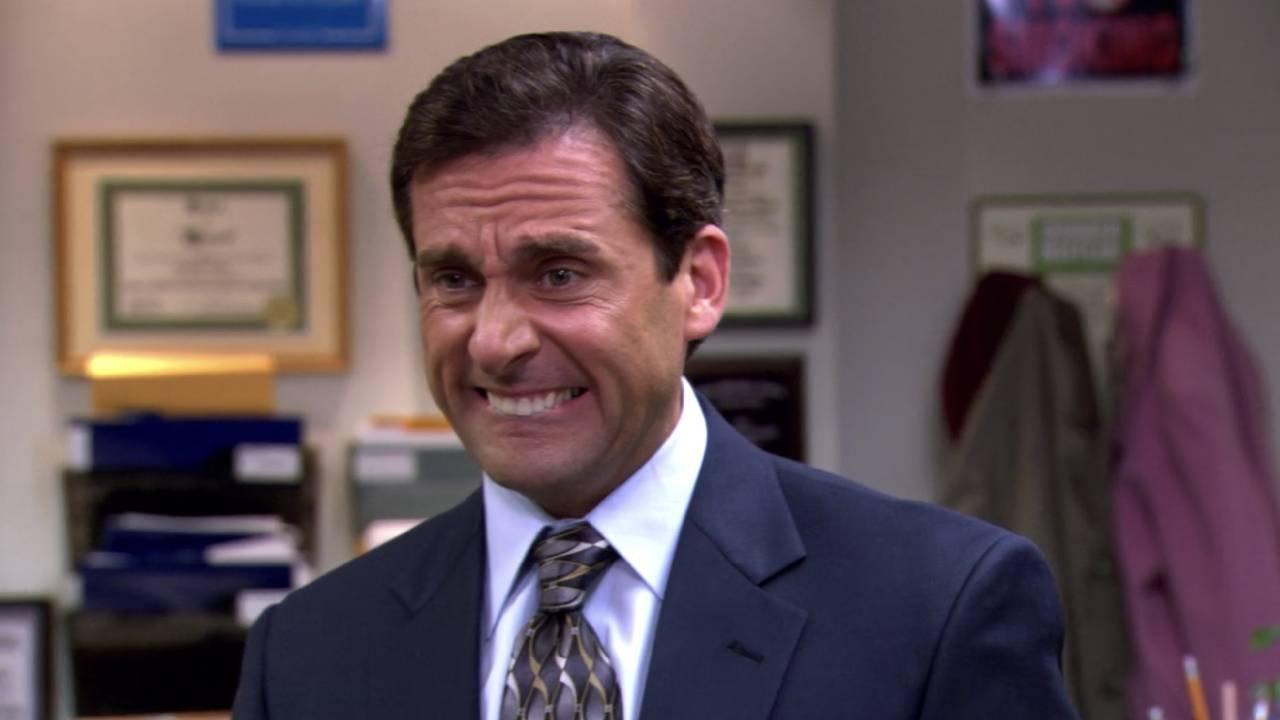 Personagem Michael Scott da serie The Office.