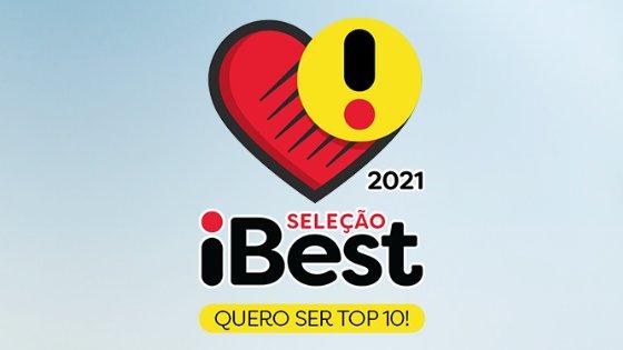 Logotipo do prêmio iBest 2021.